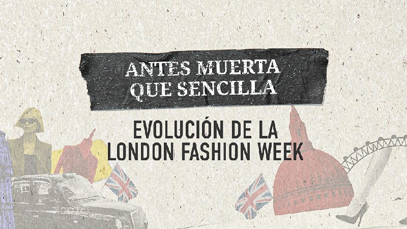 Infografía the london look