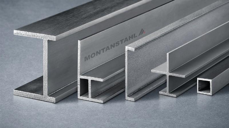Perfiles estructurales de acero inoxidable